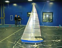 WIND TUNNEL TESTS - Conventional sailplan